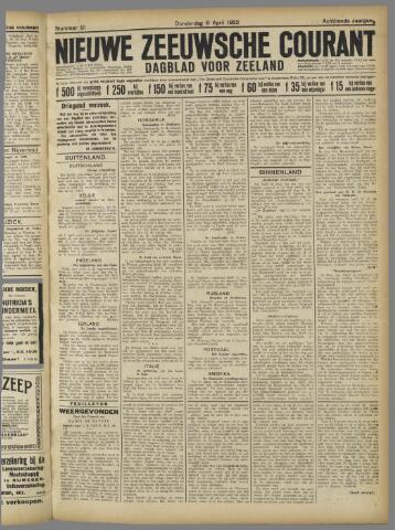 Nieuwe Zeeuwsche Courant 1922-04-06