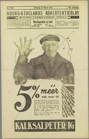 Noord-Bevelands Nieuws- en advertentieblad 1932-03-12
