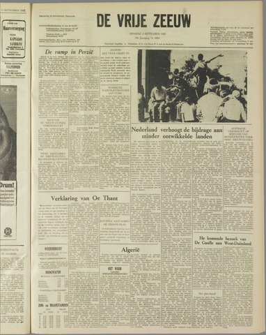 de Vrije Zeeuw 1962-09-04