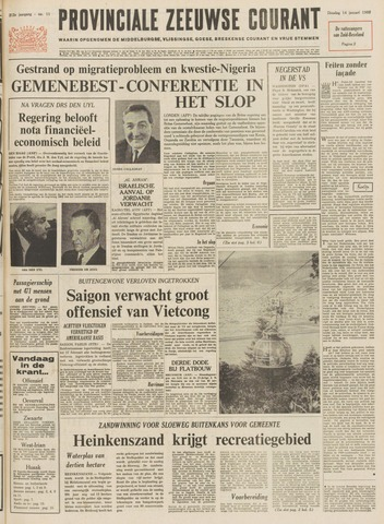 Provinciale Zeeuwse Courant 1969-01-14