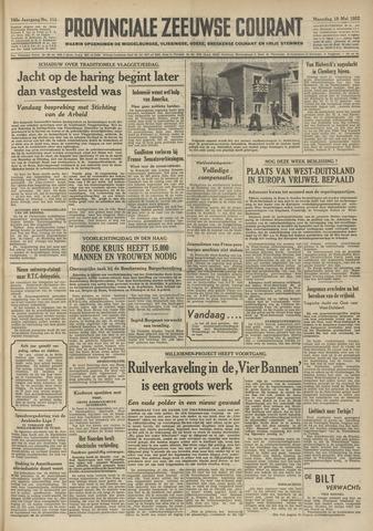Provinciale Zeeuwse Courant 1952-05-19