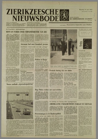 Zierikzeesche Nieuwsbode 1965-06-14