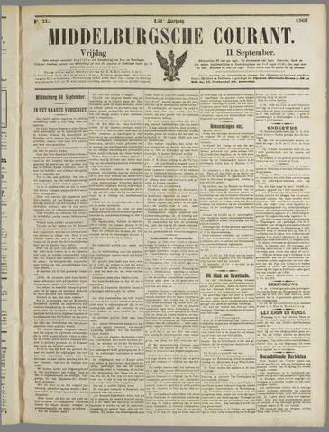 Middelburgsche Courant 1908-09-11