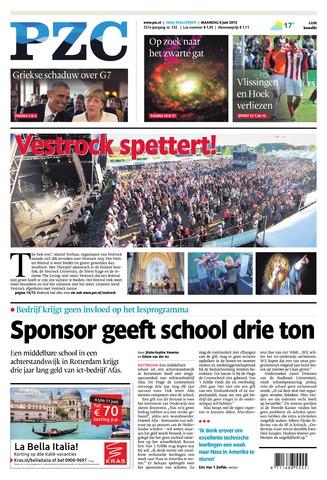 Provinciale Zeeuwse Courant 2015-06-08