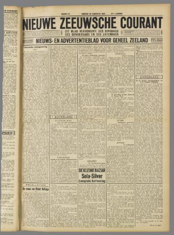 Nieuwe Zeeuwsche Courant 1933-08-29