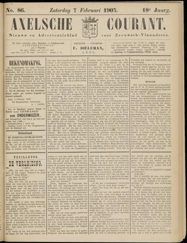 Axelsche Courant 1903-02-07