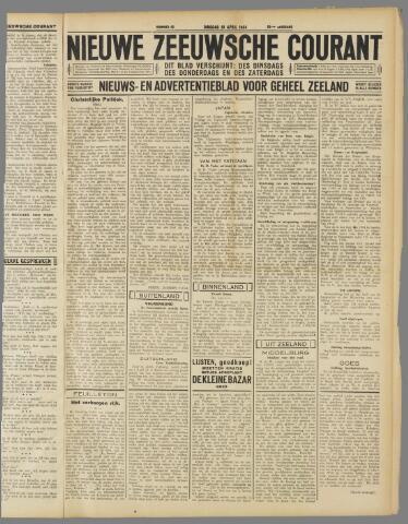 Nieuwe Zeeuwsche Courant 1934-04-10