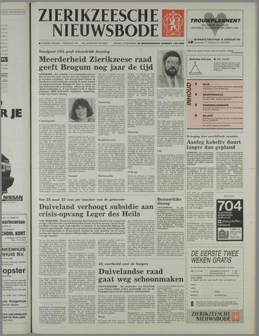 Zierikzeesche Nieuwsbode 1991-02-01