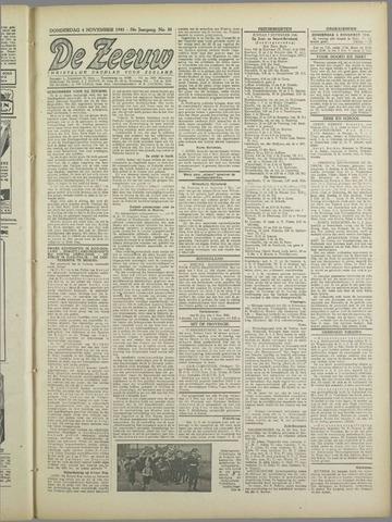 De Zeeuw. Christelijk-historisch nieuwsblad voor Zeeland 1943-11-04