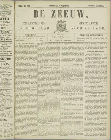De Zeeuw. Christelijk-historisch nieuwsblad voor Zeeland 1888-08-09