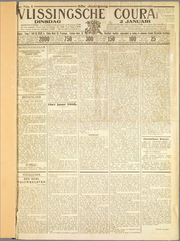 Vlissingse Courant 1917
