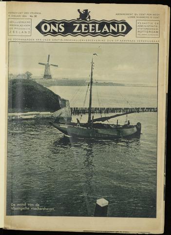 Ons Zeeland / Zeeuwsche editie 1934