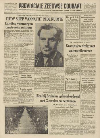 Provinciale Zeeuwse Courant 1961-08-07