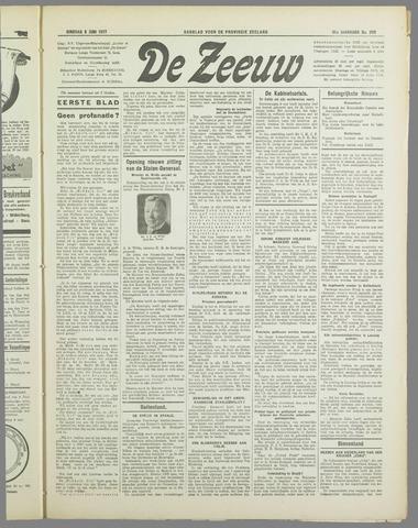 De Zeeuw. Christelijk-historisch nieuwsblad voor Zeeland 1937-06-08