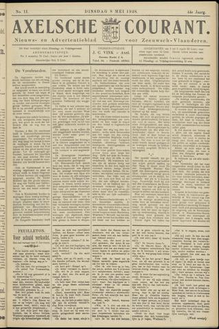 Axelsche Courant 1928-05-08