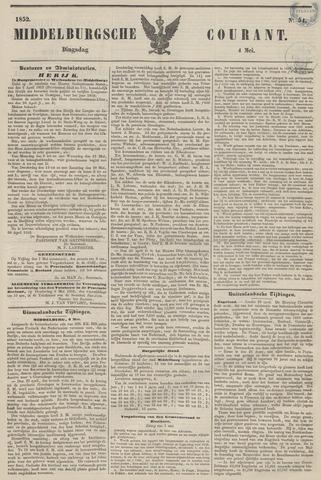 Middelburgsche Courant 1852-05-04