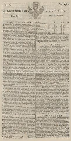 Middelburgsche Courant 1761-10-03