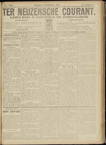 Ter Neuzensche Courant. Algemeen Nieuws- en Advertentieblad voor Zeeuwsch-Vlaanderen / Neuzensche Courant ... (idem) / (Algemeen) nieuws en advertentieblad voor Zeeuwsch-Vlaanderen 1915-11-02