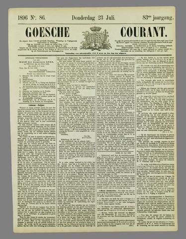 Goessche Courant 1896-07-23