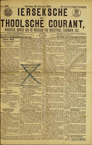 Ierseksche en Thoolsche Courant 1910-02-26