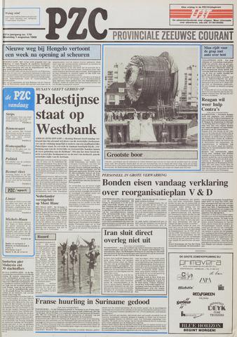 Provinciale Zeeuwse Courant 1988-08-01