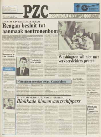 Provinciale Zeeuwse Courant 1981-08-10
