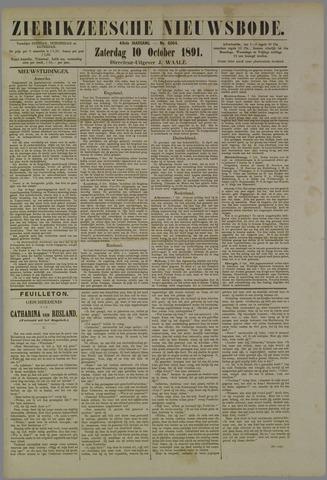 Zierikzeesche Nieuwsbode 1891-10-10