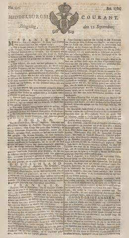 Middelburgsche Courant 1780-09-12
