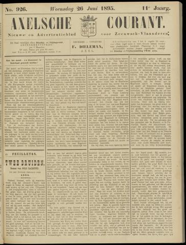 Axelsche Courant 1895-06-26
