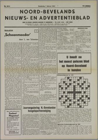 Noord-Bevelands Nieuws- en advertentieblad 1980-02-07