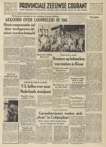 Provinciale Zeeuwse Courant 1961-11-18