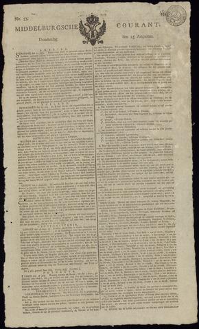 Middelburgsche Courant 1814-08-25
