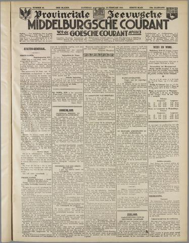 Middelburgsche Courant 1933-02-25