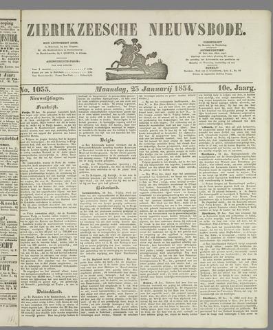 Zierikzeesche Nieuwsbode 1854-01-23