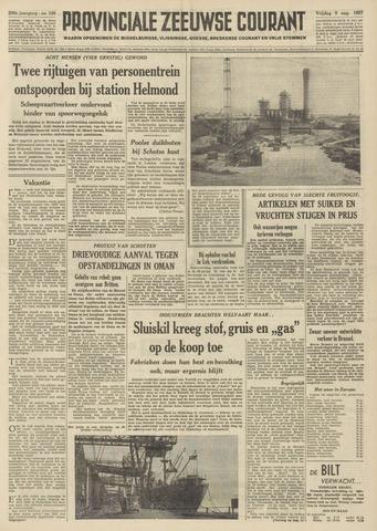 Provinciale Zeeuwse Courant 1957-08-09
