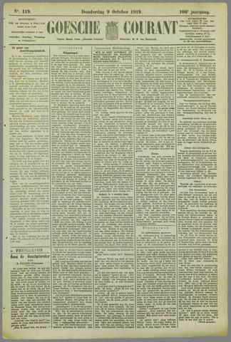 Goessche Courant 1919-10-09