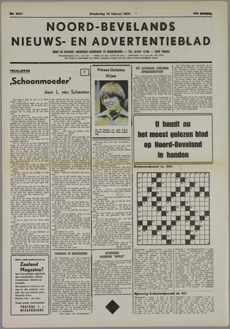 Noord-Bevelands Nieuws- en advertentieblad 1980-02-14
