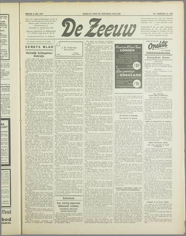 De Zeeuw. Christelijk-historisch nieuwsblad voor Zeeland 1937-07-09