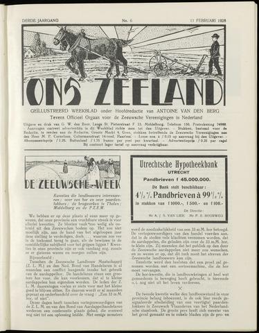 Ons Zeeland / Zeeuwsche editie 1928-02-11