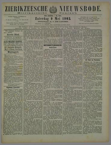 Zierikzeesche Nieuwsbode 1903-05-09
