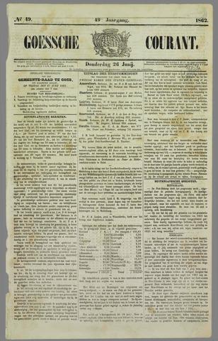 Goessche Courant 1862-06-26