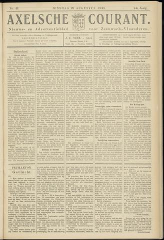Axelsche Courant 1928-08-28