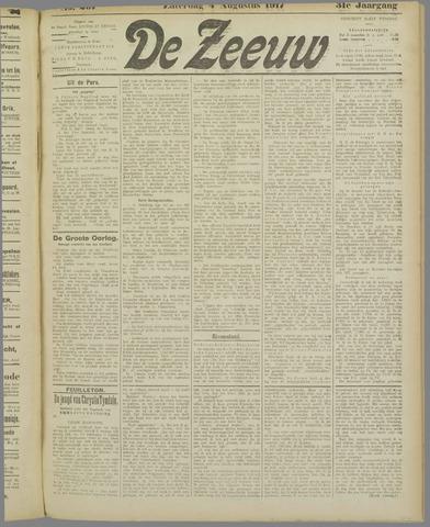 De Zeeuw. Christelijk-historisch nieuwsblad voor Zeeland 1917-08-04