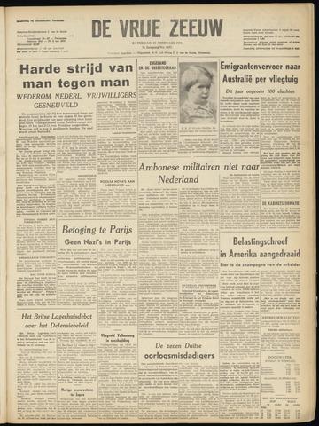 de Vrije Zeeuw 1951-02-17