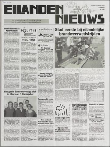Eilanden-nieuws. Christelijk streekblad op gereformeerde grondslag 2000-10-10