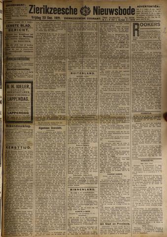Zierikzeesche Nieuwsbode 1921-12-23