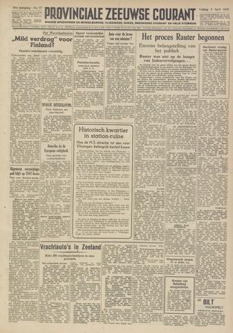 Provinciale Zeeuwse Courant 1948-04-02