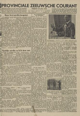 Provinciale Zeeuwse Courant 1943-07-23
