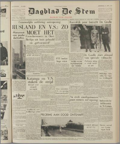de Stem 1961-09-21