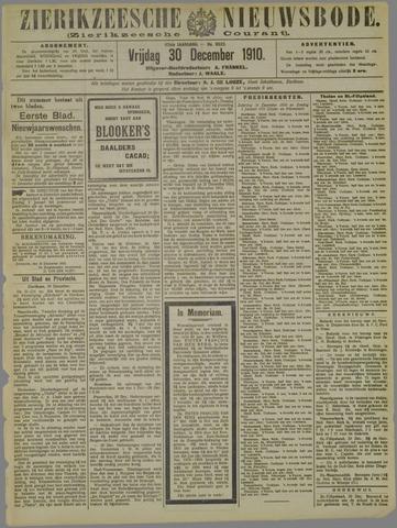 Zierikzeesche Nieuwsbode 1910-12-30